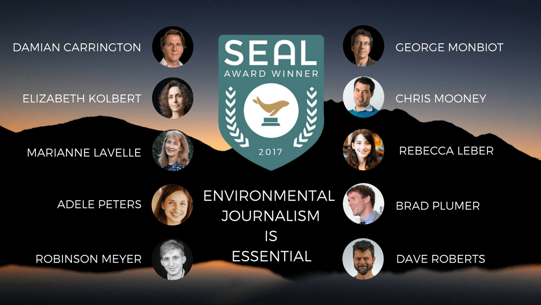 Environmental Journalism Award Winners