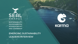 SEAL Awards interviews Karma food waste app
