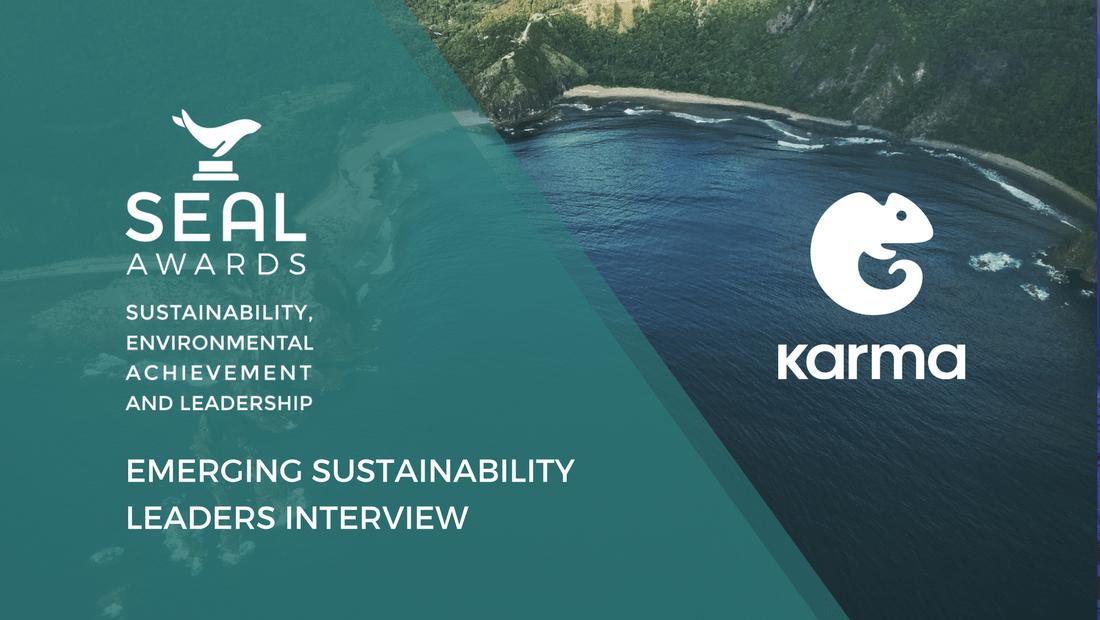 SEAL Awards interviews Karma food waste app