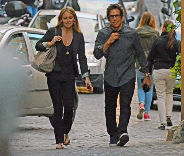 Ben Stiller in Tom Cridland Classic Navy