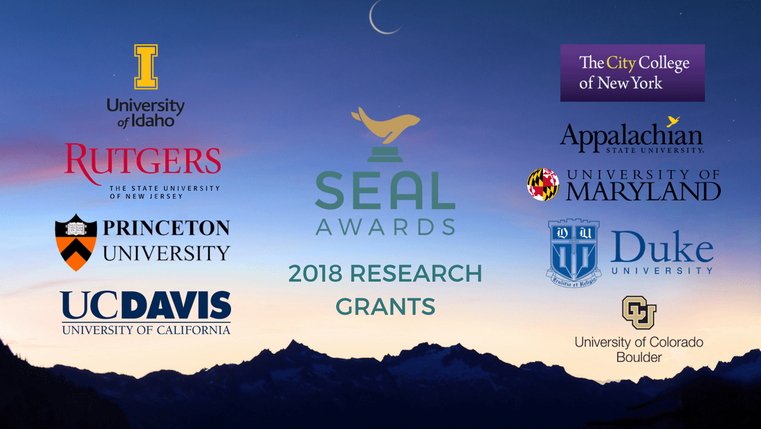 SEAL 2018 Environmental Research Grants