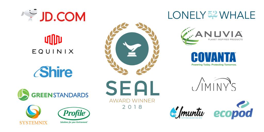 Sustainability Award Initiative Winners 2018 SEAL Awards