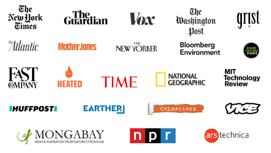 Environmental Journalism Award Winning Organizations