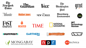 Environmental Journalism Awards - Past Winning Organizations