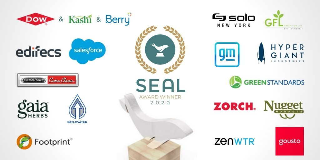 2020 SEAL Sustainability Award Winners - Sustainability Initiative Category